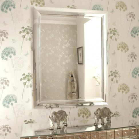 Chrome Contemporary Mirror