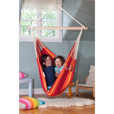 Iguana Fire Hanging Chair