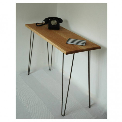 Margot Console Table Desk With Hairpin Legs