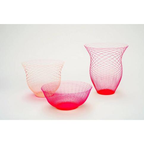 Pack Of Three Neon Air Vases