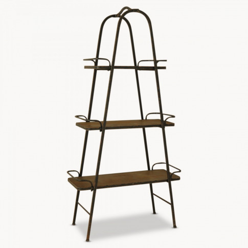 Brookby A Metal and Wood Storage Unit