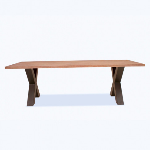 Concord Small Rustic Oak Dining Table