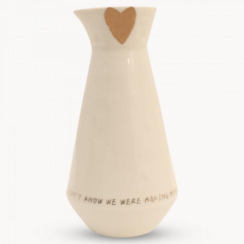 Goodwood Heart And Memories Vase