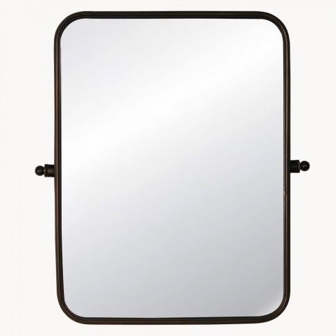 Lynfield Adjustable Rectangular Iron Mirror