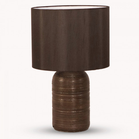 Derby Polyresin Table Lamp with Shade