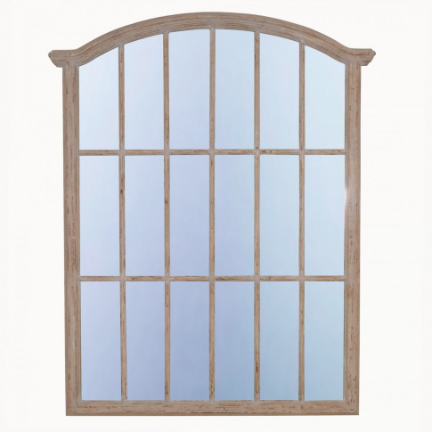 Wilton Pale Grey Fenced Mirror