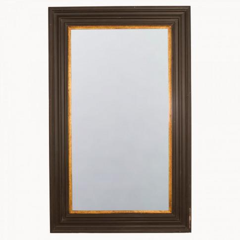 Wilton Rusty Black and Gold Mirror
