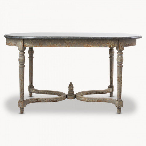 Woodcroft Colonial Grey Stone Top Table