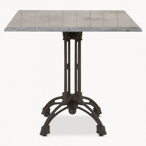 Woodcroft Iron Side Table