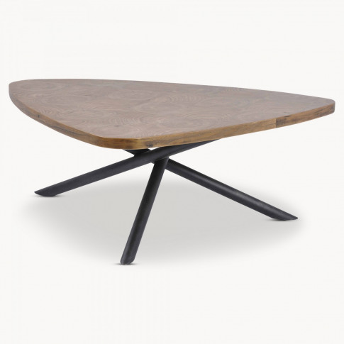 Woodcroft Elm And Iron Coffee Table
