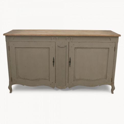 Woodcroft Vintage Grey Oak Sideboard