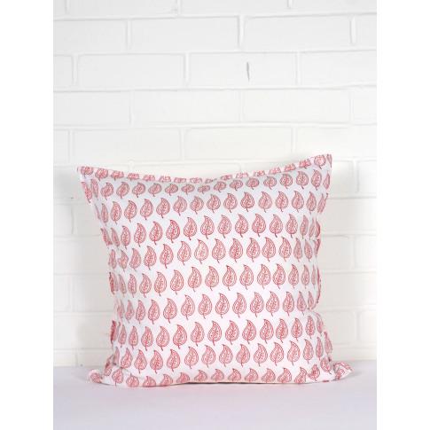 Bohemia Design   Leaf Cushions, Coral