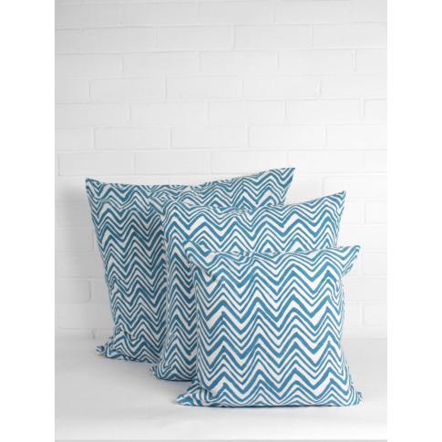 Bohemia Design | Zig Zag Cushions, Teal