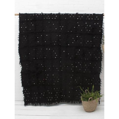 Bohemia Design | Handira Blanket, Black