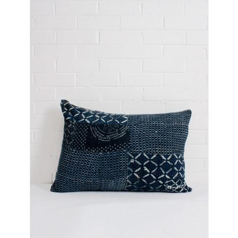 Bohemia Design | Indigo Mudcloth Cushion, No. 10