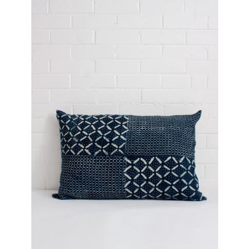 Bohemia Design | Indigo Mudcloth Cushion, No. 11