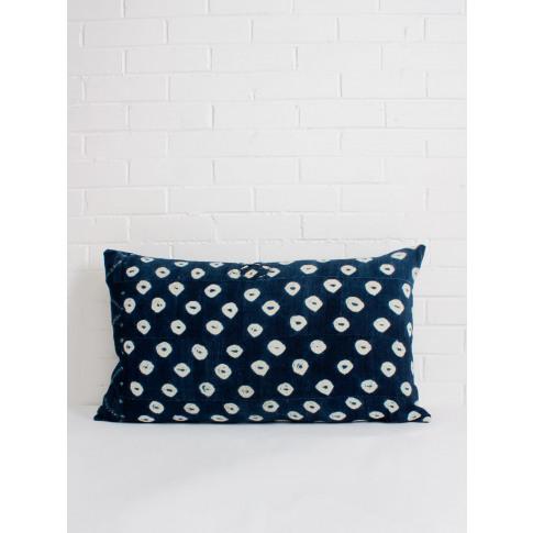 Bohemia Design | Indigo Mudcloth Cushion, No. 16