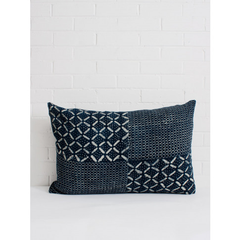 Bohemia Design | Indigo Mudcloth Cushion, No. 6