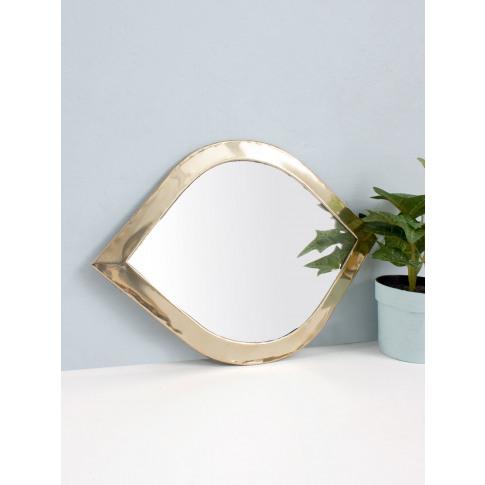 Bohemia Design | Moroccan Eye Mirror, Brass