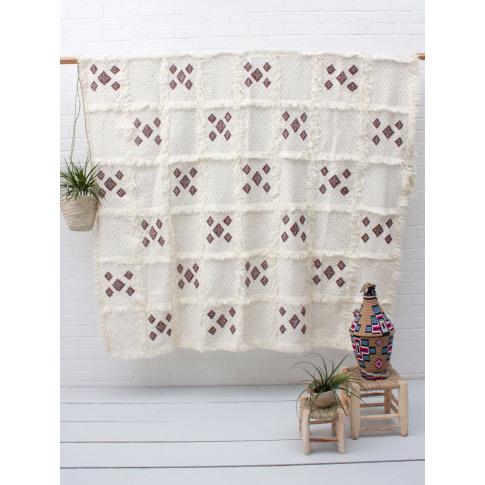 Bohemia Design | Moroccan Handira Blanket No. 112
