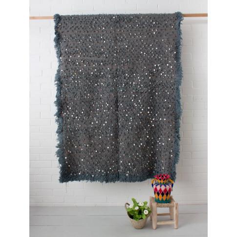 Bohemia Design   Moroccan Handira Blanket No. 128