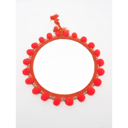 Bohemia Design | Pom Pom Mirrors, Orange