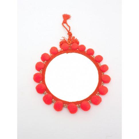 Bohemia Design | Pom Pom Mirrors, Orange