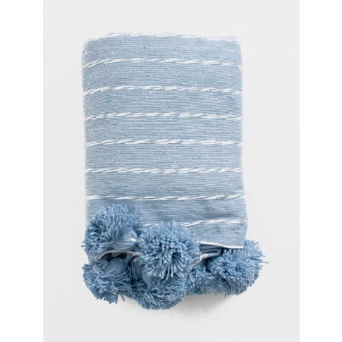 Bohemia Design | Cotton Scribble Stripe Blanket, Bab...