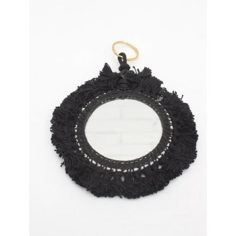 Bohemia Design | Tassel Mini Mirrors , Black