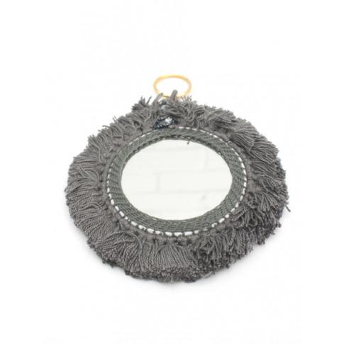 Bohemia Design | Tassel Mini Mirrors , Grey