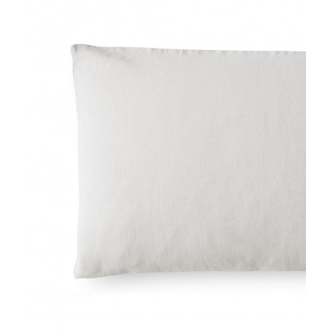 Toulon Dove Grey Linen Pillowcase