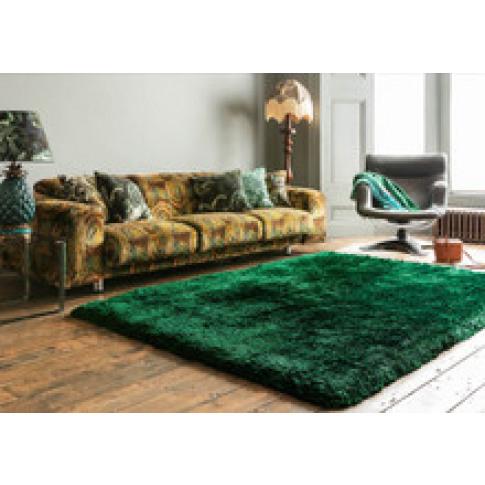 Brook + Wilde Luxury Plush Hallward Emerald Rug