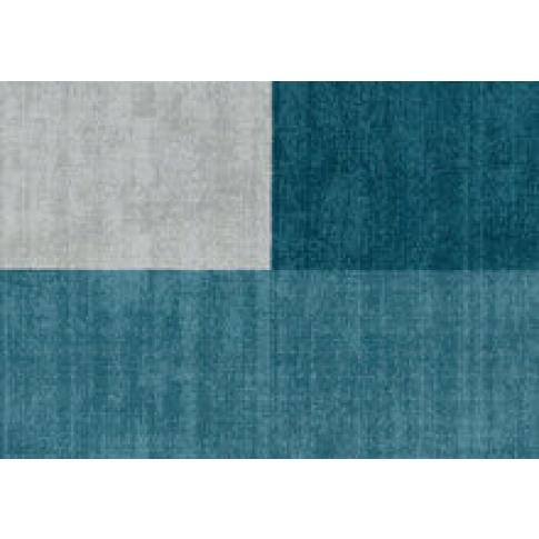 Brook + Wilde Luxury Hand Woven Wool Trinity Teal Rug
