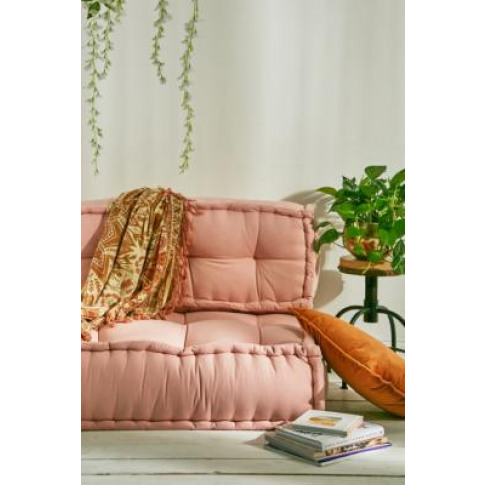 Reema Pink Back Cushion - Pink All At Urban Outfitters