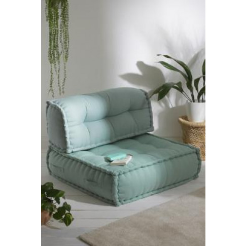 Reema Mint Floor Cushion - Mint All At Urban Outfitters