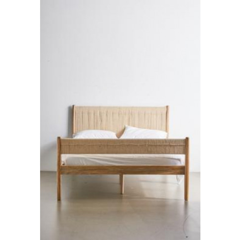 Woodrow Double Bed - Beige All At Urban Outfitters
