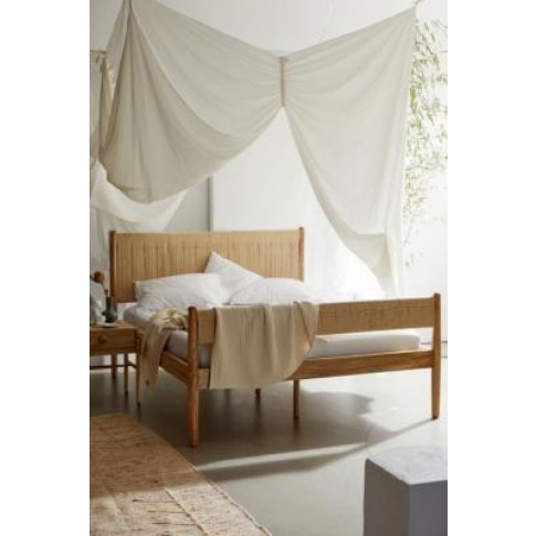 Woodrow King Bed - Beige All At Urban Outfitters