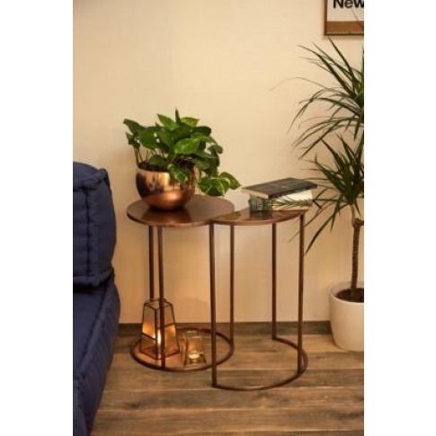 Moon Nesting Tables - Brown All At Urban Outfitters