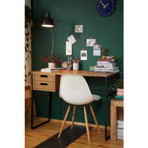Harvey Desk - Brown At Urban Outfitters