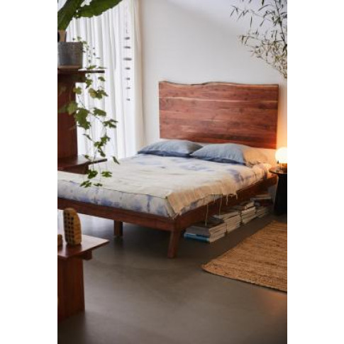 Akina Double Bed - Brown All At Urban Outfitters