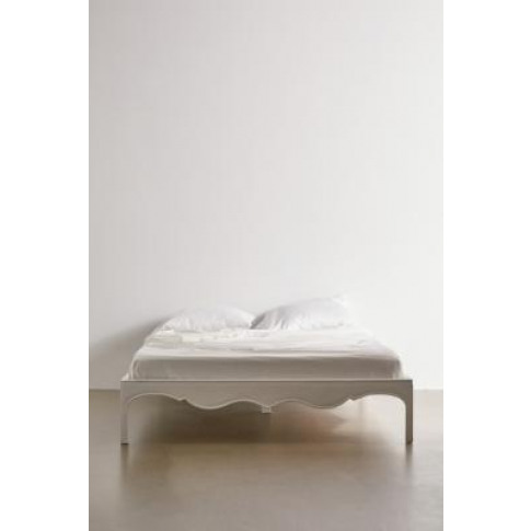 White Virginia Double Bed - White At Urban Outfitters
