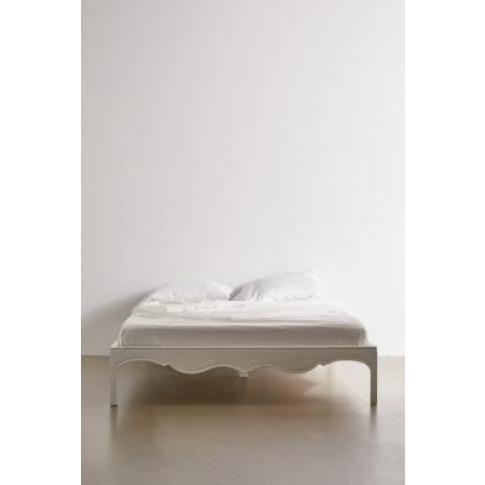 White Virginia Double Bed - White All At Urban Outfi...