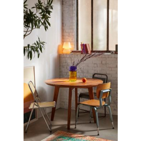 Jessa Round Dining Table - Beige At Urban Outfitters