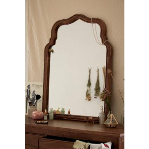 Virginia Brown Leaning Mirror - Brown All At Urban O...
