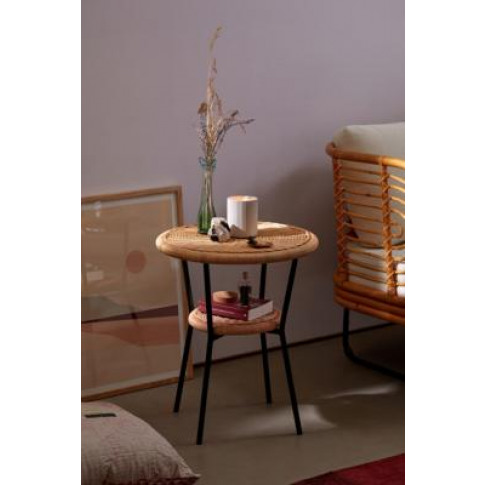 Mikko Side Table - Beige All At Urban Outfitters