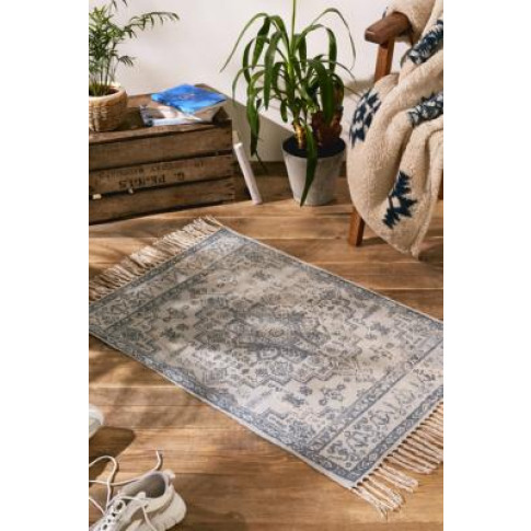 Grey Medallion 2x3 Rug - Grey All At Urban Outfitters