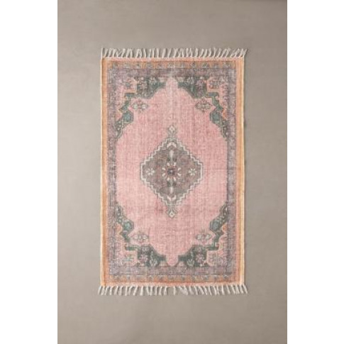 Nolan Brushed Rug - Pink 5x7 At Urban Outfitters