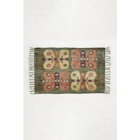 Beige Butterfly Rug 2x3 - Beige 2x3 At Urban Outfitters