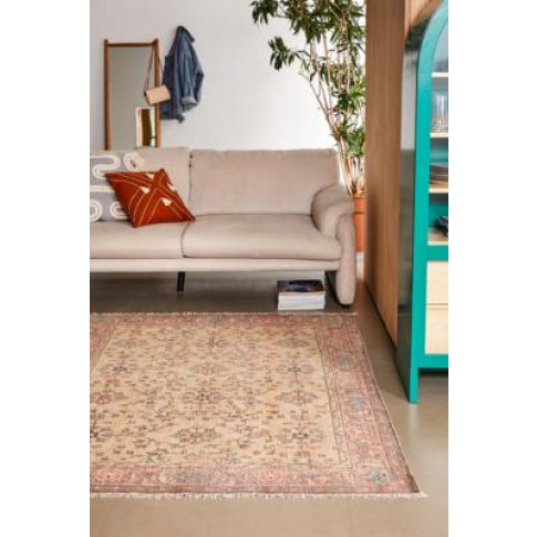 Silas Orange Floral 5x7 Rug - Orange All At Urban Outfitters