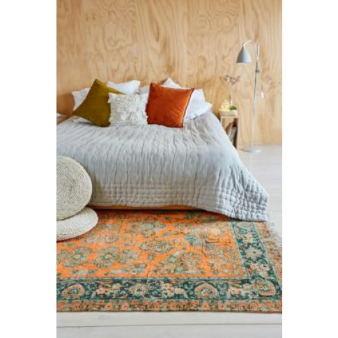 Pavo Chenille 5x7 Rug - Orange At Urban Outfitters